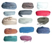 120cm BRITISH QUALITY flat Shoe Laces, Boot Laces  choice of colours